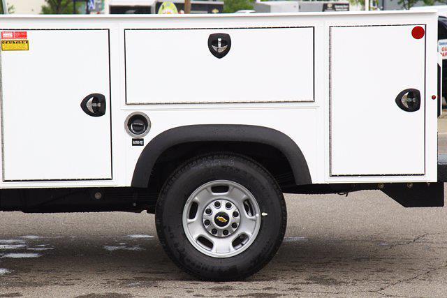 2021 Chevrolet Silverado 2500 Double Cab 4x4, Monroe AL Series MSS II Service Body #901744 - photo 13