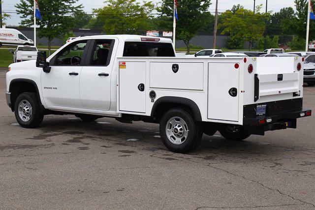 2021 Chevrolet Silverado 2500 Double Cab 4x4, Monroe AL Series MSS II Service Body #901744 - photo 6