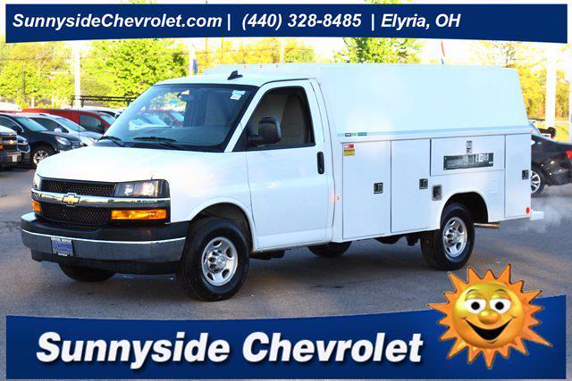 2021 Chevrolet Express 3500 4x2, Reading Service Utility Van #901763 - photo 1