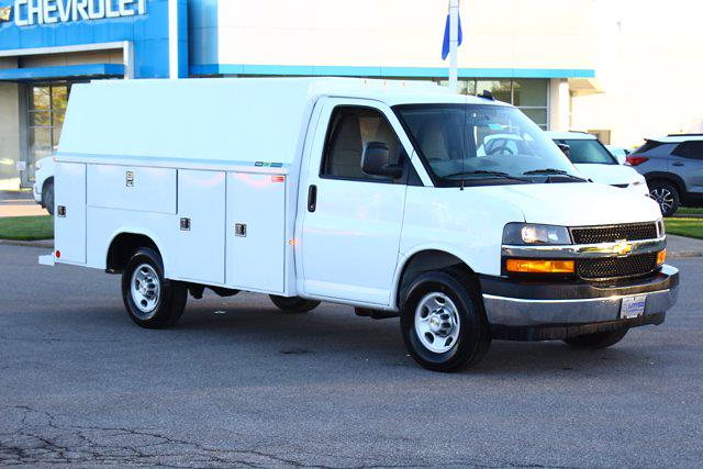 2021 Chevrolet Express 3500 4x2, Reading Aluminum CSV Service Utility Van #901763 - photo 5