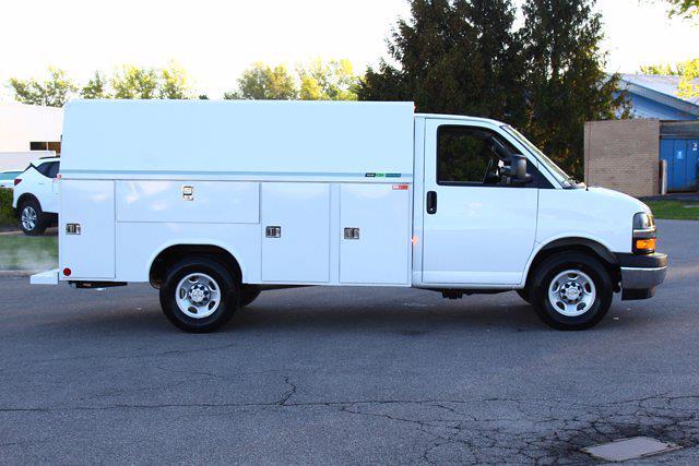 2021 Chevrolet Express 3500 4x2, Reading Aluminum CSV Service Utility Van #901763 - photo 8