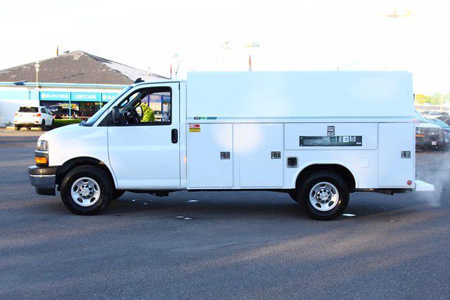 2021 Chevrolet Express 3500 4x2, Reading Aluminum CSV Service Utility Van #901763 - photo 9