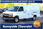 2021 Chevrolet Express 3500 4x2, Reading Aluminum CSV Service Utility Van #901763 - photo 1