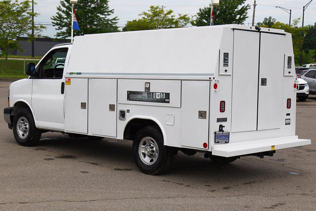 2021 Chevrolet Express 3500 4x2, Reading Service Utility Van #901820 - photo 1