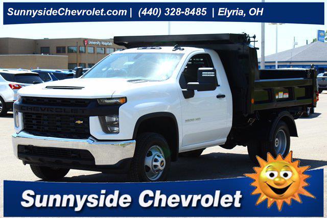2021 Chevrolet Silverado 3500 Regular Cab AWD, Reading Dump Body #901825 - photo 1