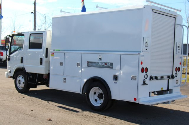 2018 LCF 4500 Crew Cab 4x2,  Reading Service Utility Van #98324 - photo 2