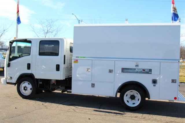 2018 LCF 4500 Crew Cab 4x2,  Reading Service Utility Van #98324 - photo 16