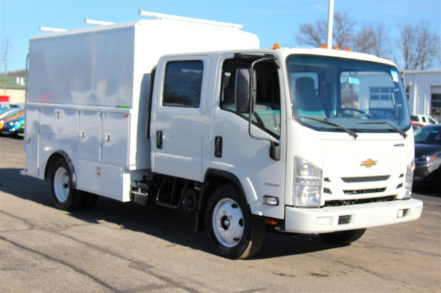 2018 LCF 4500 Crew Cab 4x2,  Reading Service Utility Van #98324 - photo 3