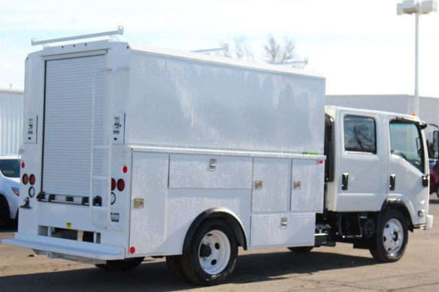 2018 LCF 4500 Crew Cab 4x2,  Reading Service Utility Van #98324 - photo 9