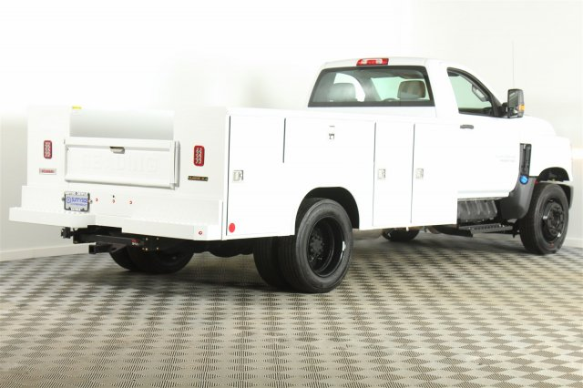 2019 Silverado Medium Duty DRW 4x2,  Reading Service Body #99331 - photo 1