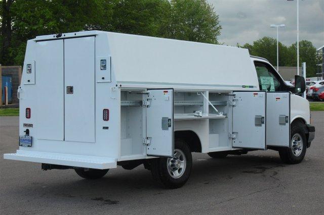 2019 Express 3500 4x2,  Reading Aluminum CSV Service Utility Van #99581 - photo 18