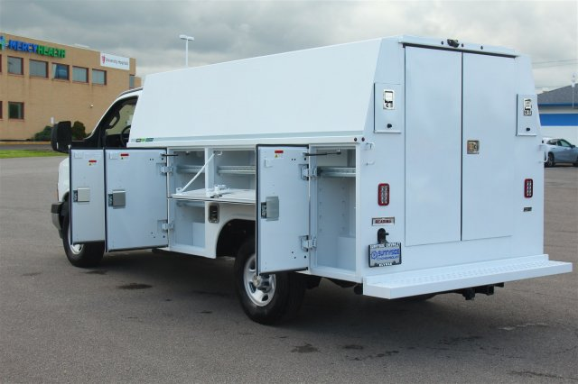 2019 Express 3500 4x2,  Reading Aluminum CSV Service Utility Van #99581 - photo 19
