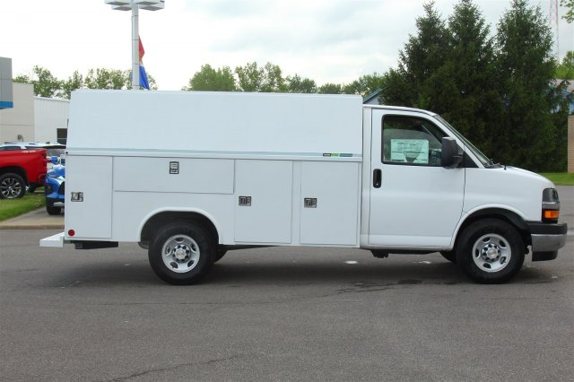 2019 Express 3500 4x2,  Reading Aluminum CSV Service Utility Van #99581 - photo 7