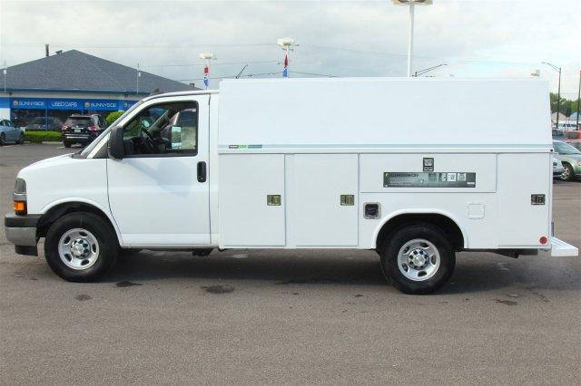2019 Express 3500 4x2,  Reading Aluminum CSV Service Utility Van #99581 - photo 8