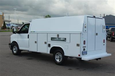 2019 Express 3500 4x2,  Reading Aluminum CSV Service Utility Van #99581 - photo 2