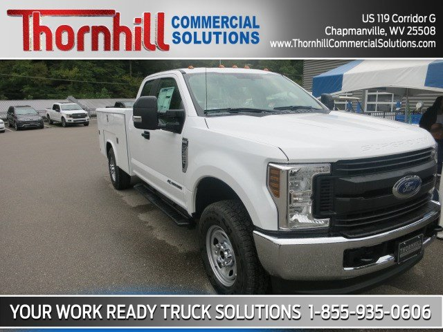 2018 F-350 Super Cab 4x4,  Reading Classic II Steel Service Body #18F682 - photo 4
