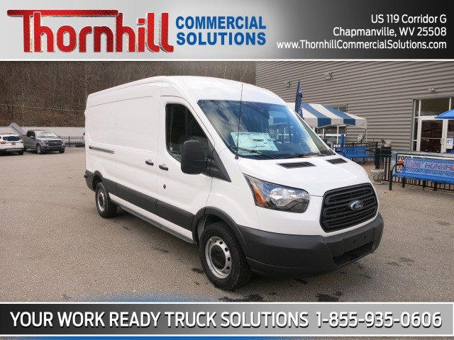 2018 Transit 150 Med Roof 4x2,  Empty Cargo Van #18F755 - photo 3