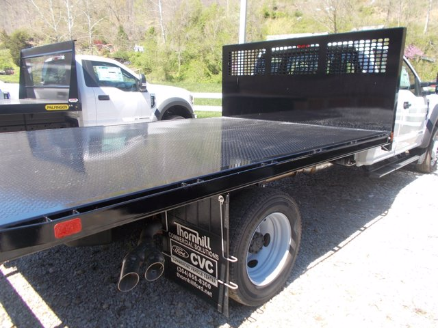 2019 Ford F-550 Super Cab DRW 4x4, CM Truck Beds Platform Body #19F817 - photo 1