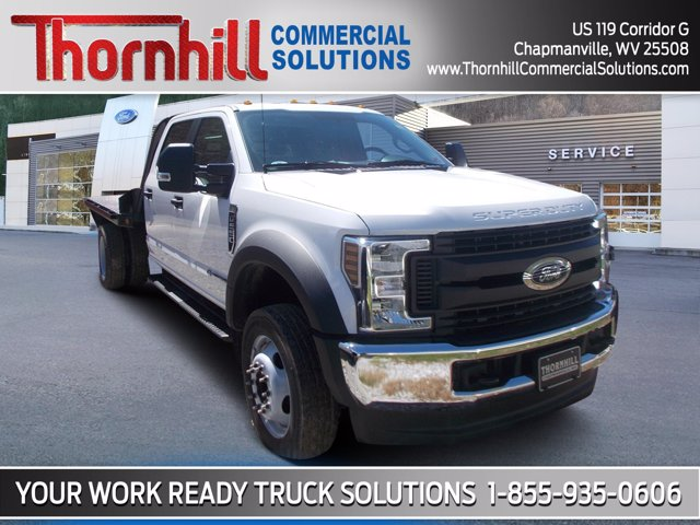 2019 Ford F-550 Crew Cab DRW 4x4, Norstar Platform Body #19F818 - photo 1