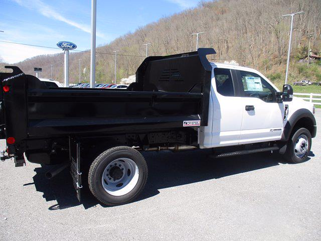 2021 Ford F-550 Super Cab DRW 4x4, Crysteel Dump Body #21F218 - photo 1