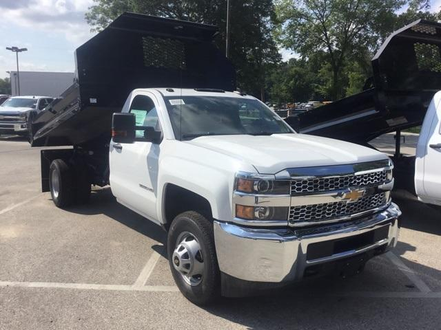 2019 Silverado 3500 Regular Cab DRW 4x4,  Knapheide Drop Side Dump Body #19067 - photo 1