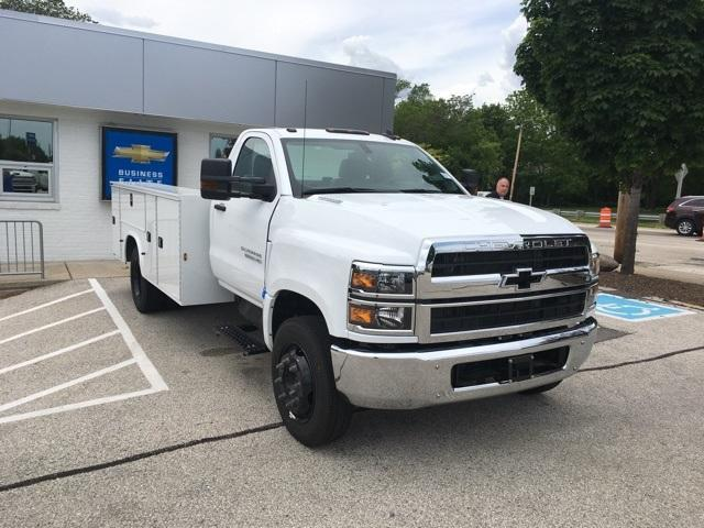 2019 Chevrolet Silverado Medium Duty Regular Cab DRW RWD, Knapheide Steel Service Body #191591 - photo 4
