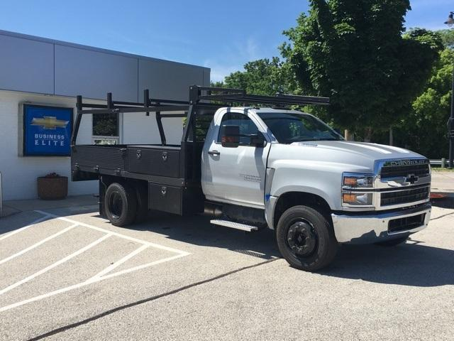2019 Silverado Medium Duty Regular Cab DRW 4x2, Monroe Contractor Body #191696 - photo 3