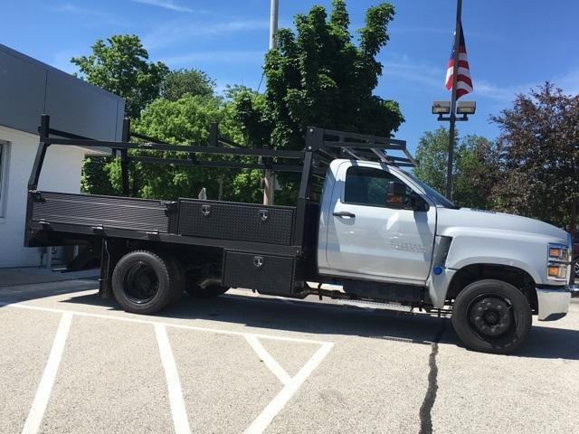 2019 Silverado Medium Duty Regular Cab DRW 4x2, Monroe Contractor Body #191696 - photo 5