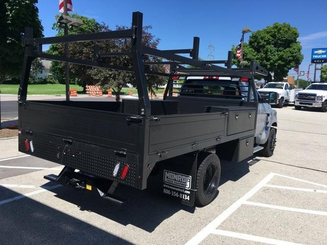 2019 Silverado Medium Duty Regular Cab DRW 4x2, Monroe Contractor Body #191696 - photo 4