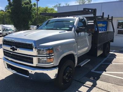 2019 Silverado Medium Duty Regular Cab DRW 4x2, Monroe Contractor Body #191696 - photo 1