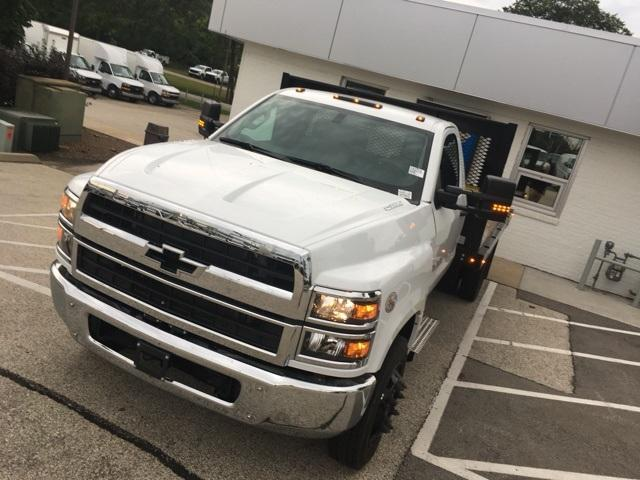2019 Silverado Medium Duty Regular Cab DRW 4x2, Monroe Work-A-Hauler II Platform Body #191753 - photo 6