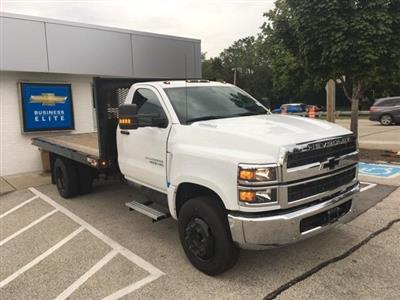 2019 Silverado Medium Duty Regular Cab DRW 4x2, Monroe Work-A-Hauler II Platform Body #191753 - photo 5
