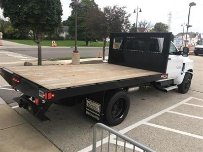 2019 Silverado Medium Duty Regular Cab DRW 4x2, Monroe Work-A-Hauler II Platform Body #191753 - photo 8