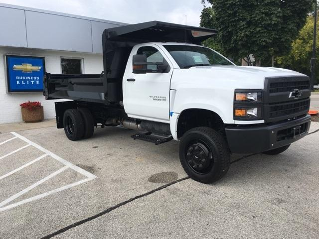 2019 Silverado Medium Duty Regular Cab DRW 4x4,  Knapheide Drop Side Dump Body #191882 - photo 5