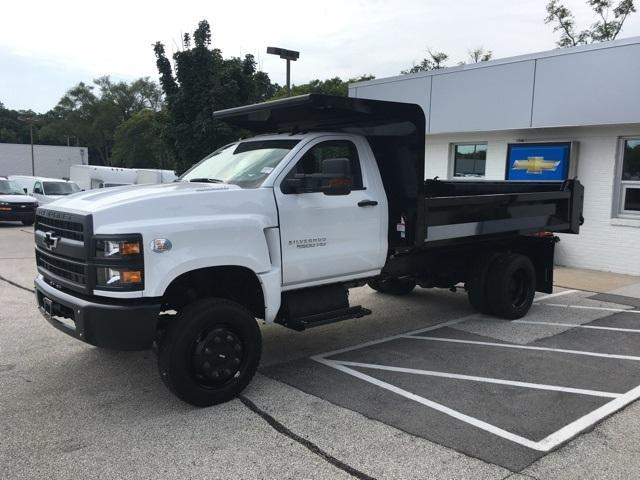 2019 Silverado Medium Duty Regular Cab DRW 4x4,  Knapheide Drop Side Dump Body #191882 - photo 6