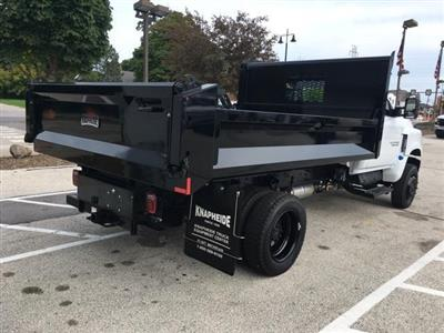 2019 Silverado Medium Duty Regular Cab DRW 4x4,  Knapheide Drop Side Dump Body #191882 - photo 4