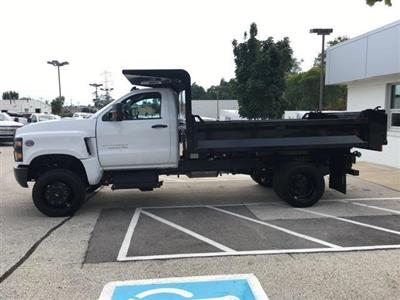 2019 Silverado Medium Duty Regular Cab DRW 4x4,  Knapheide Drop Side Dump Body #191882 - photo 7