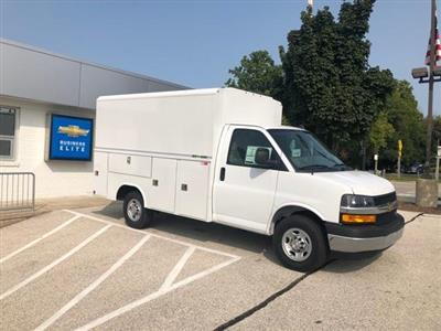 2020 Chevrolet Express 3500 RWD, Reading Aluminum CSV Service Utility Van #202014 - photo 1