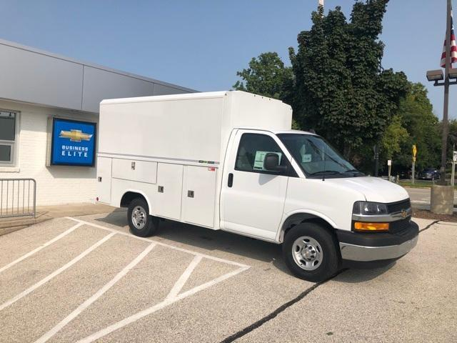 2020 Chevrolet Express 3500 RWD, Reading Aluminum CSV Service Utility Van #202015 - photo 1
