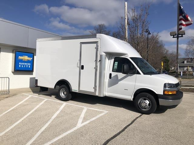2020 Chevrolet Express 3500 4x2, Rockport Cargoport Cutaway Van #202254 - photo 1