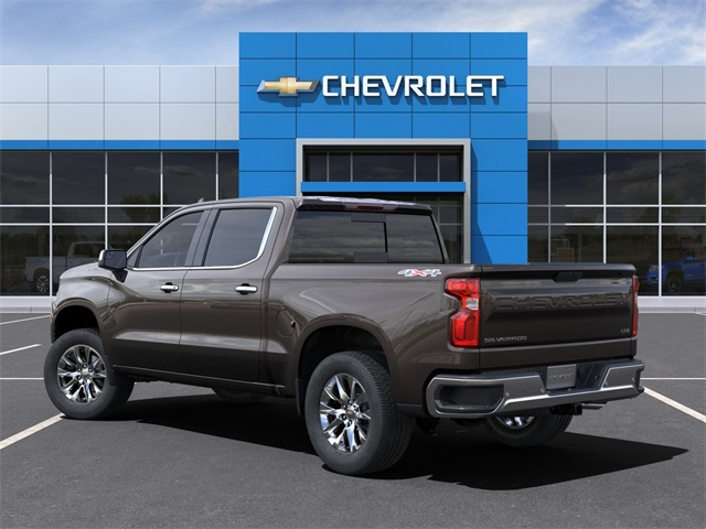 2021 Chevrolet Silverado 1500 Crew Cab 4x4, Pickup #210147 - photo 4