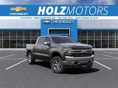 2021 Chevrolet Silverado 1500 Crew Cab 4x4, Pickup #210147 - photo 1