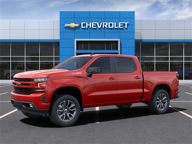 2021 Chevrolet Silverado 1500 Crew Cab 4x4, Pickup #210208 - photo 3