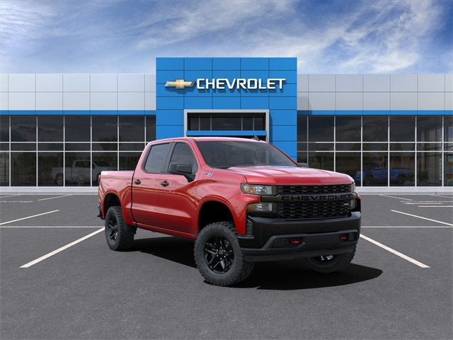 2021 Chevrolet Silverado 1500 Crew Cab 4x4, Pickup #210438 - photo 1