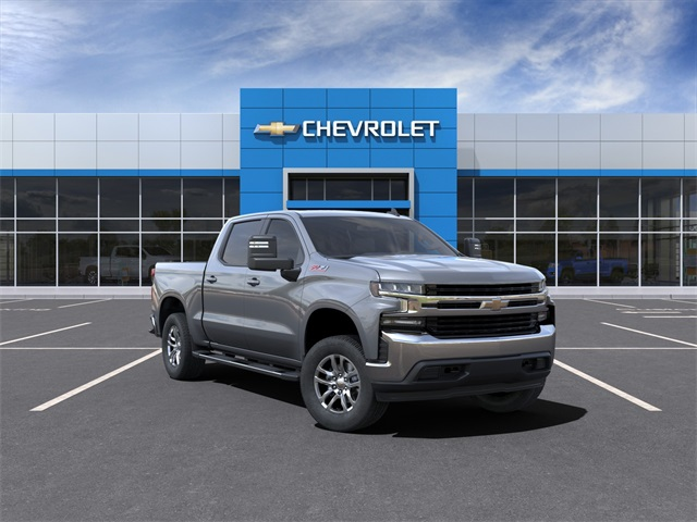 2021 Chevrolet Silverado 1500 Crew Cab 4x4, Pickup #210439 - photo 1