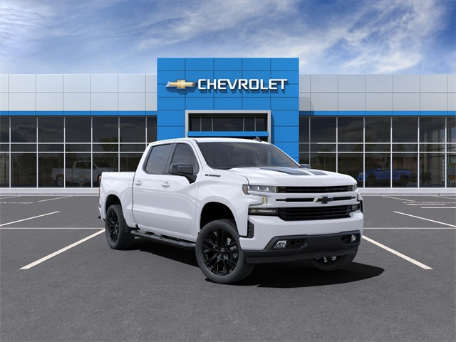 2021 Chevrolet Silverado 1500 Crew Cab 4x4, Pickup #210447 - photo 1