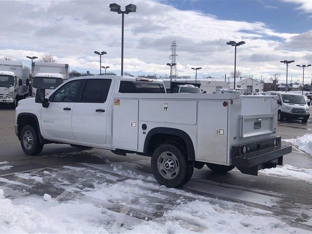 2021 Chevrolet Silverado 2500 Crew Cab 4x4, Monroe Service Body #210589 - photo 1
