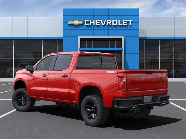 2021 Chevrolet Silverado 1500 Crew Cab 4x4, Pickup #210750 - photo 3