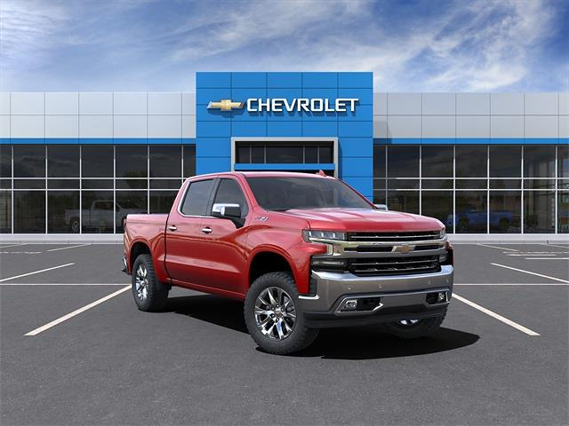2021 Chevrolet Silverado 1500 Crew Cab 4x4, Pickup #210882 - photo 1