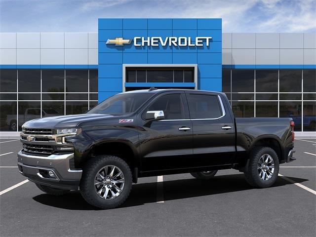 2021 Chevrolet Silverado 1500 Crew Cab 4x4, Pickup #210901 - photo 3